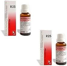 2 X Dr. Reckeweg - R25 Homeopathic Medicine