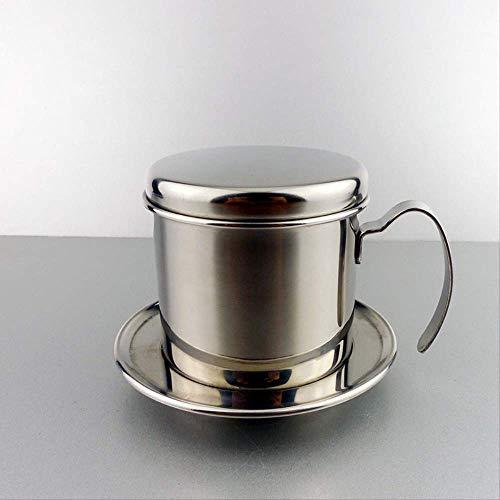 French koffiemaker, roestvrij staal, koffiepot Vietnam Dropleak, voor koffie, 304 roestvrij staal