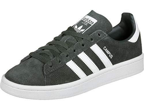 Adidas Campus J Zapatillas de Gimnasia Unisex Niños, Gris (Legend Ivy/Ftwr White), 35.5 EU (3 UK)