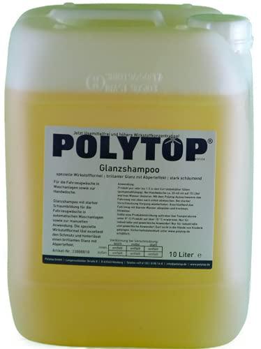 Polytop Champú abrillantador para coche, 10 litros