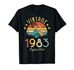 Made in 1983 - 37 years of Being Awesome. Make a cool gift for your dad, mom, grandparent, or friends who are turning 37. Celebrate your special 37th birthday and make party more funny. Click my store to see more 1983 shirt with vintage retro style. ...