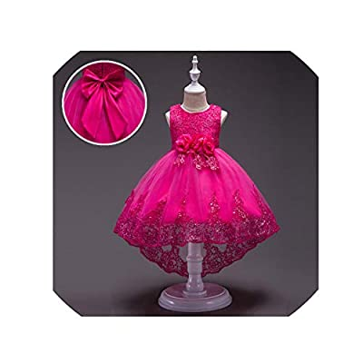 Summer Kids Dresses for Girls Wedding Elegant Sleeveless Clothes Formal Princess Evening Party Toddler Dress