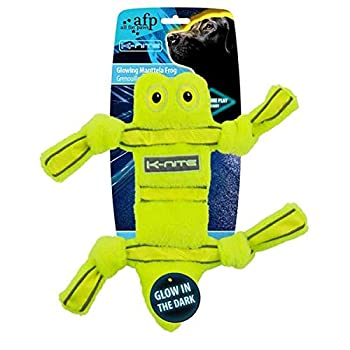 ALL FOR PAWS AFP3322 Grenouille Lumineuse et Fluorescente K-Nite