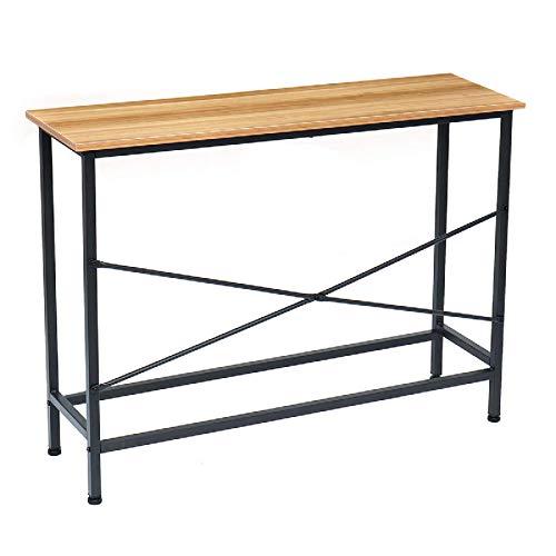Lzcaure Escritorio de computadora escritorio estudio mesa de escritura E1 tablero MDF PC portátil estación de trabajo para oficina en casa casa dormitorio