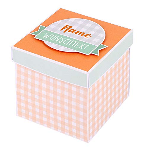 Herz & Heim® Überraschungsbox zur Schwangerschaft - du wirst Papa/du wirst Oma/du wirst Opa/du wirst Tante/du wirst Onkel - Handgefertigt in Deutschland Oma