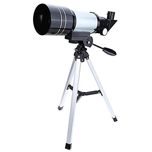 Fayeille Monocular F30070M Refracción Pro Reflector Espacial Telescopio Astronómico Externo King Camping con Trípode HD Óptico Multifuncional Viaje Viaje Portátil 150X