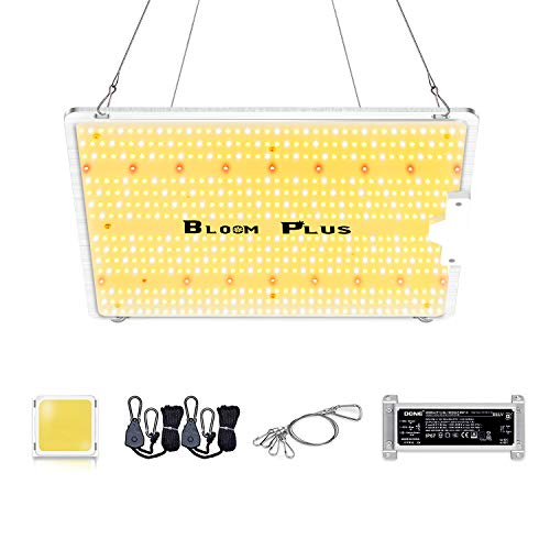 Bloom Plus LED Grow Light BP1500 Dimmable Full Spectrum Plant Grow Lights High-Efficiency Growing Lights with 587pcs Samsung Diodes(Includes IR) Grow Lamps for Indoor Plants Greenhouse Veg and Flower