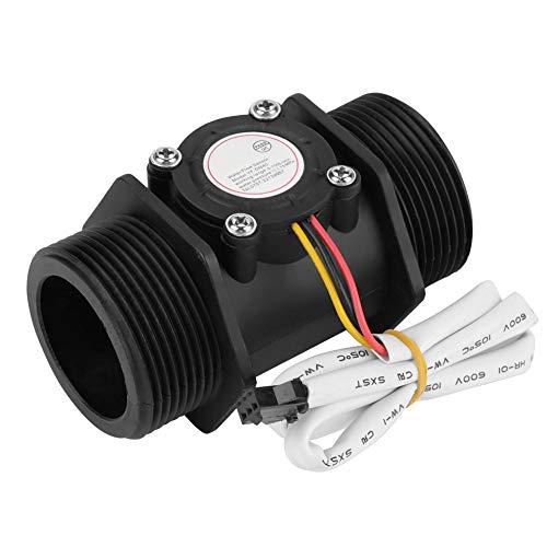 NITRIP Turbines Durchflussmesser, DN40 G1,5 Wasserdurchfluss Hallsensor Umschaltmesser für Heizung
