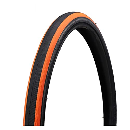 LWWHYDZCPJXP Neumático De Bicicleta 20x1.35 (37-406) BMX Neumático De Bicicleta Plegable De Carretera De Montaña 20er 20 * 1.35 6 0TPI Ultra Luz 280 G (Color : Orange)