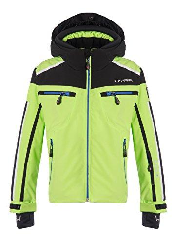 Hyra Buffalo Veste de Ski Enfant, bébé, Buffalo, Lime Green/Nero