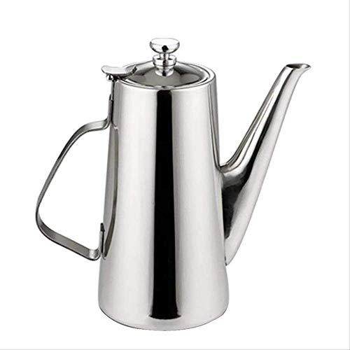 Grote buik Fornuis Top Mocha Koffiepot Moka RVS Filter Italiaanse Espresso Koffiemachine Percolator Tool