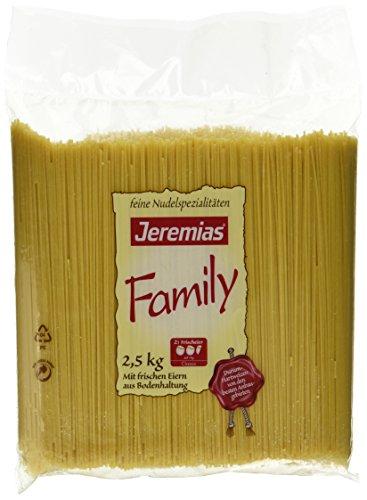 Jeremias Spaghetti, Family Frischei-Nudeln, 1er Pack (1 x 2.5 kg Beutel)