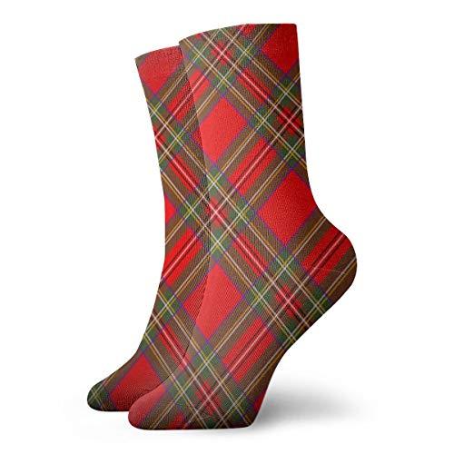 Royal Stewart Tartan Plaid Illustrationen Clip Art Mode Lange Socken Weiche Wärmer Strümpfe 1 Para Für Frauen & Männer Sport Socken 11,8 Zoll (30 Cm)