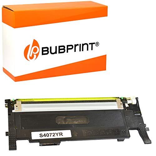 Bubprint Toner kompatibel für Samsung CLT-Y4072S für CLP-320 CLP-320N CLP-325 CLP-325N CLP-325W CLX-3180 CLX-3185 CLX-3185FN CLX-3185FW CLX-3185N CLX-3185W Gelb