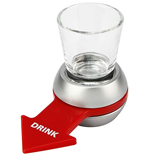 Barbuzzo Original Spin the Shot - Fun Party Drinking Game, Includes 2...