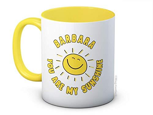 Ihr Name Jeder Name - Personalisierte You Are My Sunshine - Kaffee oder Tee Tasse Becher