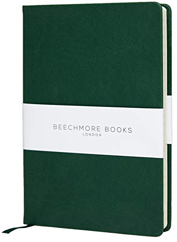 Ruled Softcover Notebook - British A5 Journal by Beechmore Books | Large 5.75