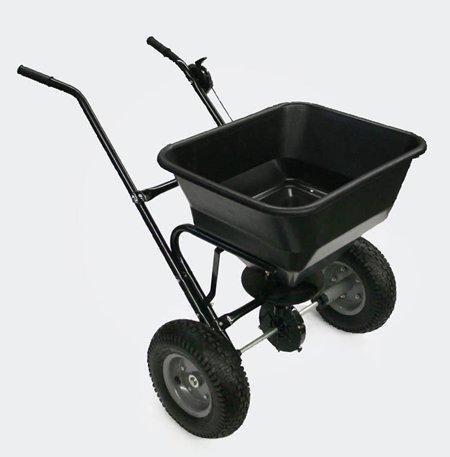 Streuwagen 30kg mit Luftreifen für Salz Dünger Saatgut Streusalz