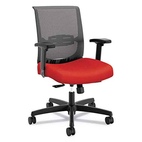 HONCMY1ACU67 - HON Convergence Mid-Back Task Chair with Syncho-Tilt Control with Seat Slide