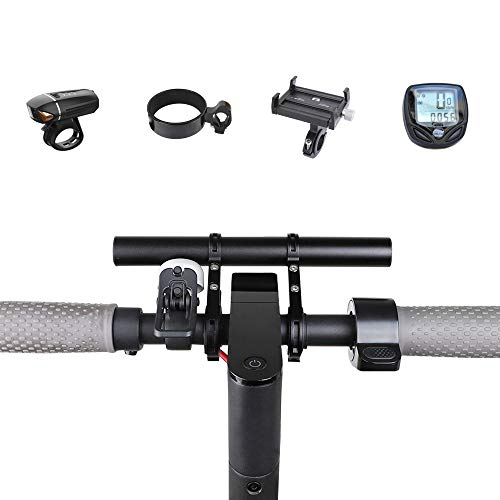 TOMALL Handlebar Extender Bicycle Extension Bar Aluminum Alloy Bracket Space Saver Use for XIAOMI M365,Ninebot ES1 ES2,Mountain Bicycle