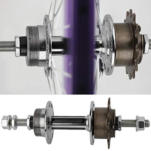 Buje de rueda trasera de metal para bicicleta, bicicleta universal para bicicleta, 36 agujeros, reemplazo de casete de buje de rueda trasera