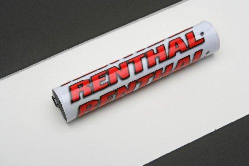 Renthal P263 Mousse de guidon bicolore blanc/rouge 245mm