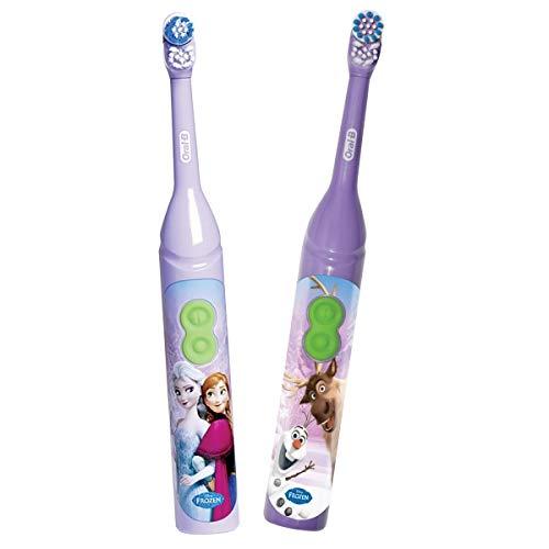 Oral-B Stages Power Kids Disney Frozen - Cepillo de dientes con temporizador (2)