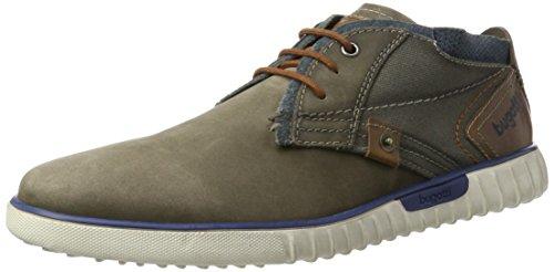 bugatti Herren K3732PR58 Low-Top Sneaker, Grau, 43 EU