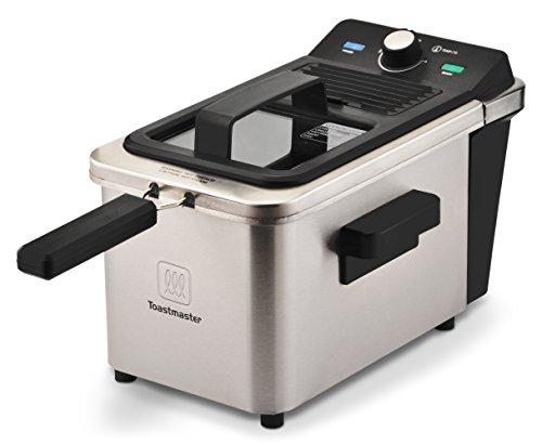 Toastmaster Deep Fryer, 2.5 Liter, Silver