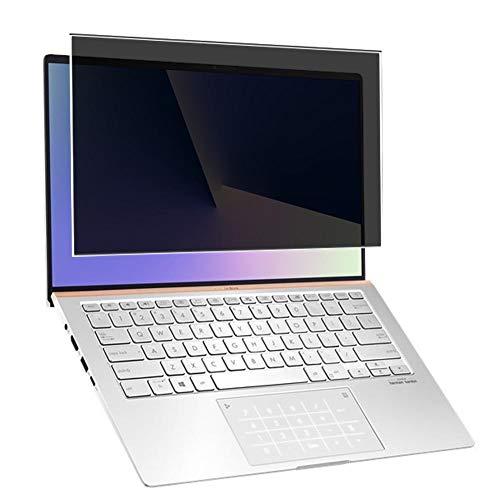 """Vaxson TPU Pellicola Privacy, compatibile con ASUS ZenBook 14 UX433 UX433FAC 14"""", Screen Protector Film Filtro Privacy [Non Vetro Temperato Cover Custodia ]"""