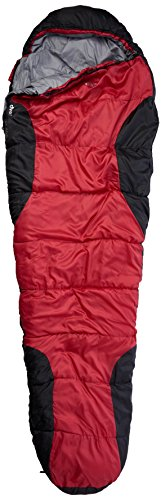 Randoneo Yellowstone Adventurer, 400, Sacco a Pelo, Unisex, Adventurer 400, Red