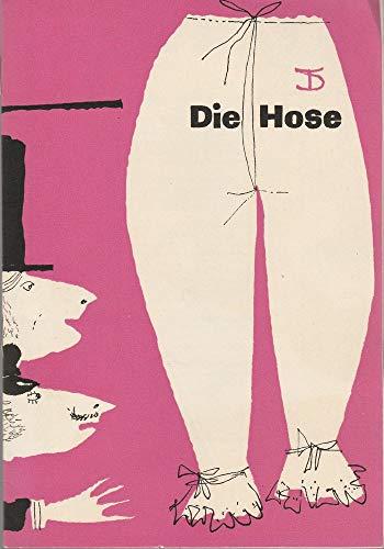 Programmheft Carl Sternheim DIE HOSE Spielzeit 1961 / 62 Heft 4