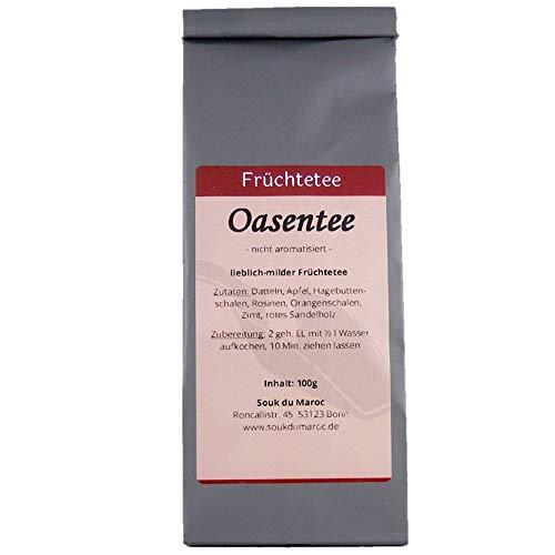 Früchtetee Tee orientalischer Oasentee mit vielen Früchten ✔ Früchte Tee Tea Chay lose ✔ Teemischung ✔ ohne Zusatzstoffe & Konservierungsstoffe, 100g