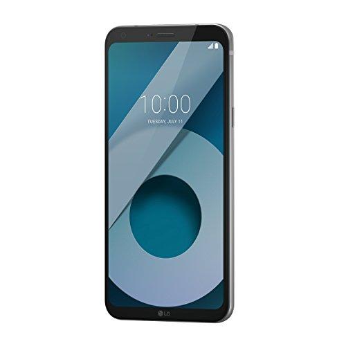 LG Q6 Plus Smartphone (13,97 cm (5,5 Zoll) Full HD Plus IPS Display, 64GB Speicher und 4GB RAM, Android 7.1.1) Platin