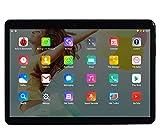 Tableta de 10 pulgadas Octa Core CPU Android 8.1, 4 GB de RAM, 64 GB de memoria interna, cámara WiFi, GPS, Dual SIM, sin bloqueo de red, tableta 3G, metal negro
