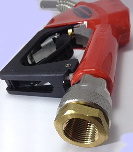 1 Stück. Automatik Zapfpistole mit Drehgelenk Rücklaufschutz Magnet Abscheider Diesel-Pumpe