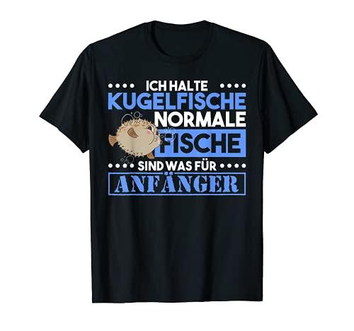 Kugelfisch Aquarium Meeresbewohner Meeresfisch T-Shirt