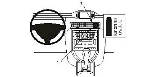Brodit ProClip Support de Fixation pour Citroen C6 07-10 Noir
