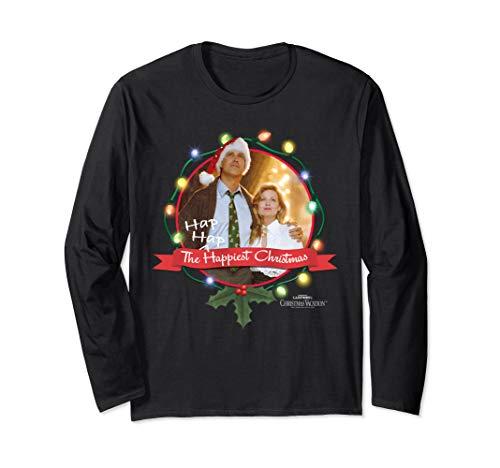 Christmas Vacation Ha Ha Happiest Langarmshirt