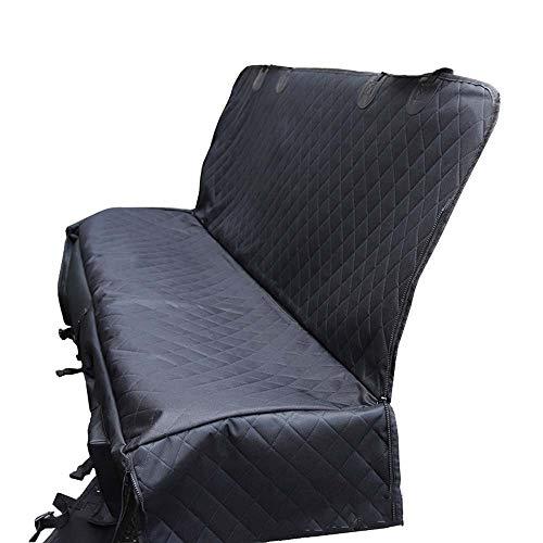 XFSE Cojín de asiento trasero para perro, bolsa impermeable dentro del coche sucio alfombra de coche, hamaca de 137 x 147 cm