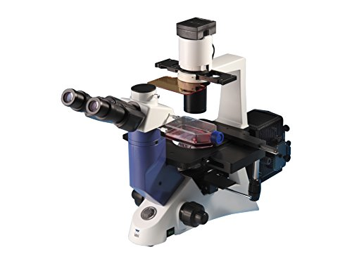 Ceti 3660.8000M Mikroskop Inverso TC-100 Fluoreszenz Trinokular Neigungswinkel 45°