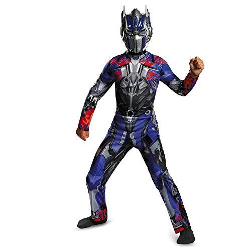 Disguise Hasbro Transformers Age of Extinction Movie Optimus Prime Classic Boys Costume, Small/4-6
