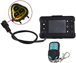 Heater LCD Monitor Switch & Remote Control Controller For Car Diesel Air Parking