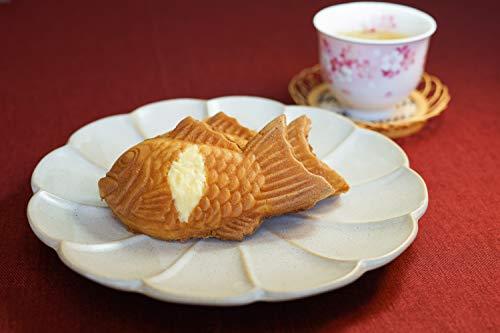 【米粉のたい焼き】カスタードクリーム入りたい焼き【冷凍クール便でお届け】 (10個入り)