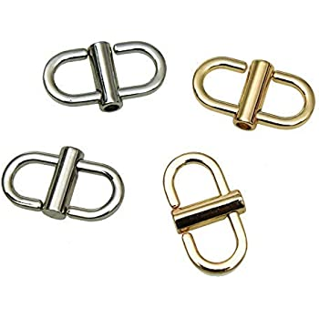 Adjustable Metal Buckle for Shoulder Chain Strap Women Bag Length Shorten Purse Chain Adjuster Metal Clip Accessories 4pcs