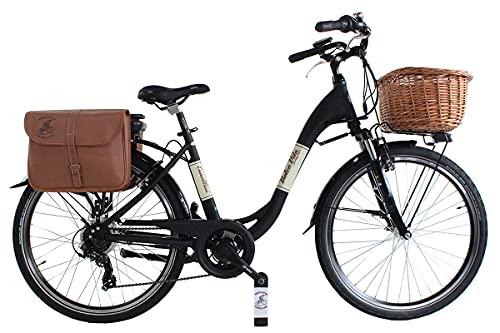 2021 Bicicletta elettrica Venere Dolce Vita Elettrica Alluminio Donna Panna Schimano Schwalbe