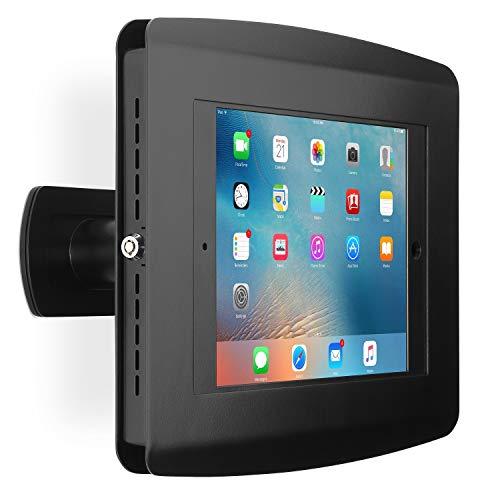 SecurityXtra tablet-behuizing voor iPad Kantelbare wandhouder. Universal zwart