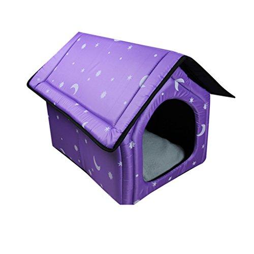 Pet nest Maison de Chien Amovible Maison de Chien Maison Chambre d'animaux de Compagnie Chambre d'animaux de Compagnie Nid de Chat (Couleur : N ° 2)