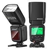 Neewer NW655-C 2.4G カメラフラッシュ HSS 1/8000s TTL GN58ワイヤレスマスタースレーブフラッシュスピードライト Canon DSLR 800D/750D/700D/650D/600D/7D2/7D/6D2/6D/5D4/5D3/5D2/5DS/1D4/1D3/100D/80D/70D/60D/EOSRカメラなどに対応