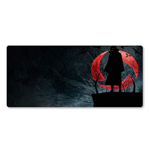 `Star Empty Mouse mat, HD Print Rubber Mouse Pad Locking Edge Large Mat Fast Laptop Gaming Mouse Pad For Gamer (Size : 900x400x2)